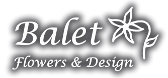 Balet Flowers and Design Logo