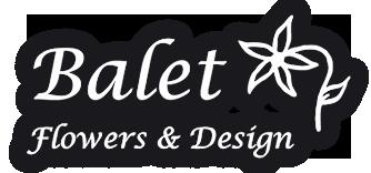 Balet Flowers and Design Logo
